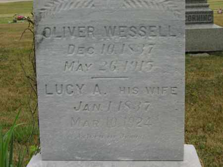 WESSELL, OLIVER - Lorain County, Ohio | OLIVER WESSELL - Ohio Gravestone Photos
