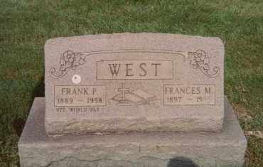 WEST, FRANCES M. - Lorain County, Ohio | FRANCES M. WEST - Ohio Gravestone Photos