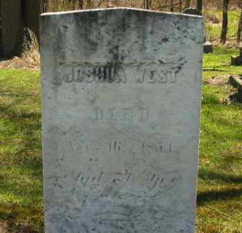 WEST, JOSHUA - Lorain County, Ohio | JOSHUA WEST - Ohio Gravestone Photos