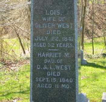 WEST, LOIS - Lorain County, Ohio | LOIS WEST - Ohio Gravestone Photos
