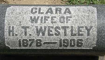 WESTLEY, CLARA - Lorain County, Ohio | CLARA WESTLEY - Ohio Gravestone Photos