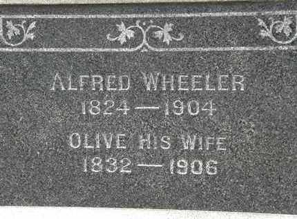 WHEELER, OLIVE - Lorain County, Ohio | OLIVE WHEELER - Ohio Gravestone Photos