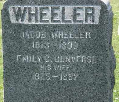WHEELER, EMILY C. - Lorain County, Ohio | EMILY C. WHEELER - Ohio Gravestone Photos