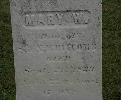 WHITCOMB, MARY E. - Lorain County, Ohio | MARY E. WHITCOMB - Ohio Gravestone Photos
