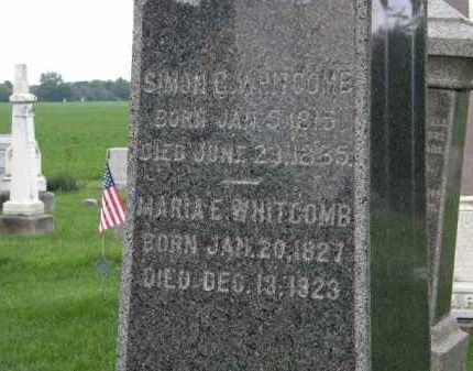 WHITCOMB, SIMON C. - Lorain County, Ohio | SIMON C. WHITCOMB - Ohio Gravestone Photos