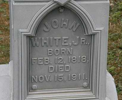 WHITE, JOHN JR. - Lorain County, Ohio | JOHN JR. WHITE - Ohio Gravestone Photos