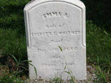 WHITNEY, EMMA A. - Lorain County, Ohio | EMMA A. WHITNEY - Ohio Gravestone Photos