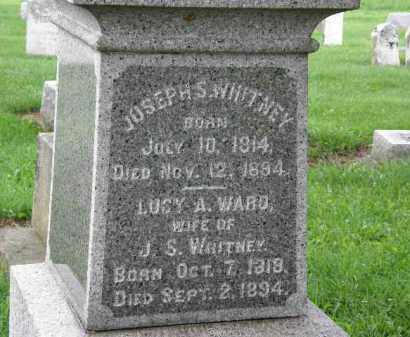 WHITNEY, JOSEPH S. - Lorain County, Ohio | JOSEPH S. WHITNEY - Ohio Gravestone Photos