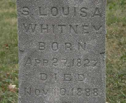 WHITNEY, S. LOUISA - Lorain County, Ohio | S. LOUISA WHITNEY - Ohio Gravestone Photos
