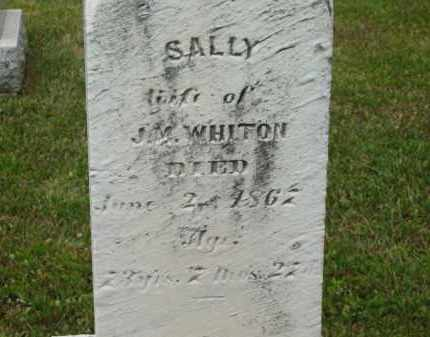 WHITON, SALLY - Lorain County, Ohio | SALLY WHITON - Ohio Gravestone Photos