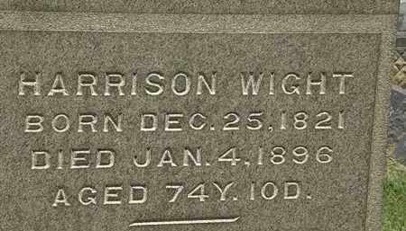 WIGHT, HARRISON - Lorain County, Ohio | HARRISON WIGHT - Ohio Gravestone Photos