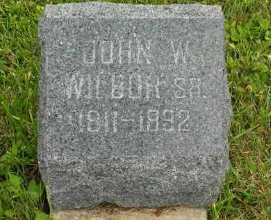 WILBUR, JOHN W. SR. - Lorain County, Ohio | JOHN W. SR. WILBUR - Ohio Gravestone Photos