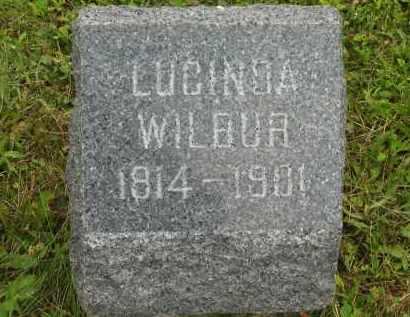 WILBUR, LUCINDA - Lorain County, Ohio | LUCINDA WILBUR - Ohio Gravestone Photos