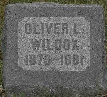 WILCOX, OLIVER L. - Lorain County, Ohio | OLIVER L. WILCOX - Ohio Gravestone Photos