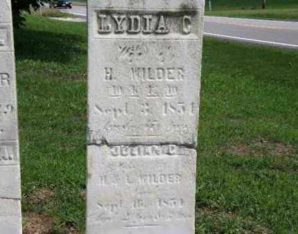 WILDER, LYDIA C. - Lorain County, Ohio | LYDIA C. WILDER - Ohio Gravestone Photos