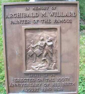WILLARD, ARCHIBALD - Lorain County, Ohio   ARCHIBALD WILLARD - Ohio Gravestone Photos