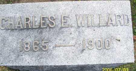 WILLARD, CHARLES E. - Lorain County, Ohio   CHARLES E. WILLARD - Ohio Gravestone Photos