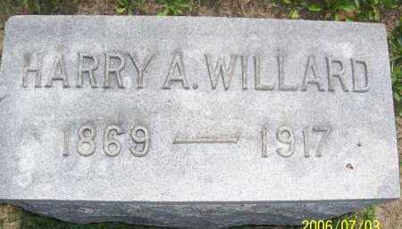 WILLARD, HARRY A. - Lorain County, Ohio | HARRY A. WILLARD - Ohio Gravestone Photos