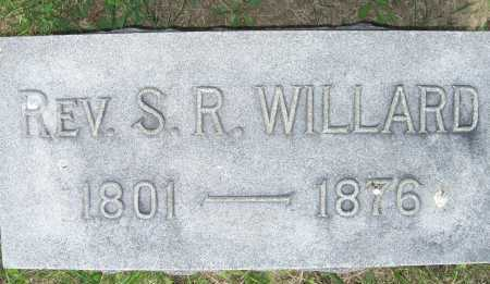 WILLARD, S. R. (REV.) - Lorain County, Ohio | S. R. (REV.) WILLARD - Ohio Gravestone Photos