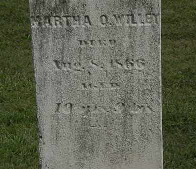 WILLEY, MARTHA O. - Lorain County, Ohio | MARTHA O. WILLEY - Ohio Gravestone Photos
