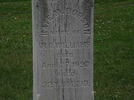 WILLIAMS, KATE M. - Lorain County, Ohio | KATE M. WILLIAMS - Ohio Gravestone Photos