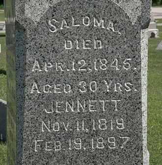 WILMOT, JENNETT - Lorain County, Ohio | JENNETT WILMOT - Ohio Gravestone Photos