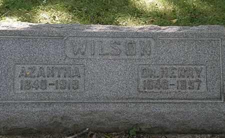 WILSON, AZANTHA - Lorain County, Ohio | AZANTHA WILSON - Ohio Gravestone Photos