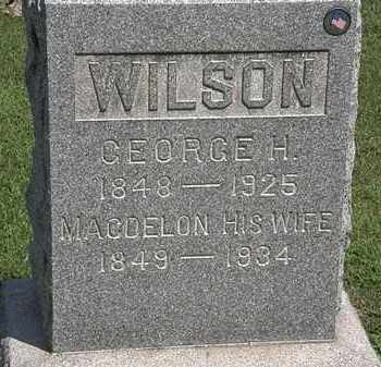 WILSON, MACDELON - Lorain County, Ohio | MACDELON WILSON - Ohio Gravestone Photos