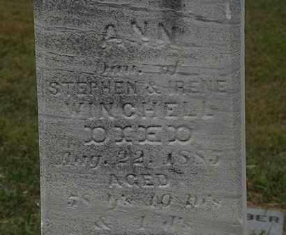 WINCHELL, STEPHEN - Lorain County, Ohio | STEPHEN WINCHELL - Ohio Gravestone Photos