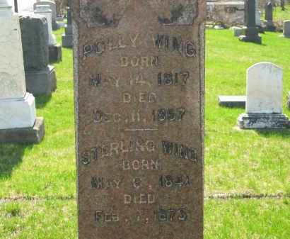 WING, STERLING - Lorain County, Ohio | STERLING WING - Ohio Gravestone Photos