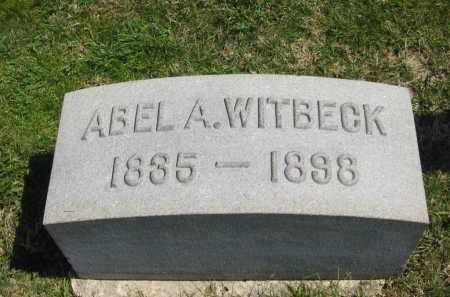 WITBECK, ABEL A. - Lorain County, Ohio | ABEL A. WITBECK - Ohio Gravestone Photos