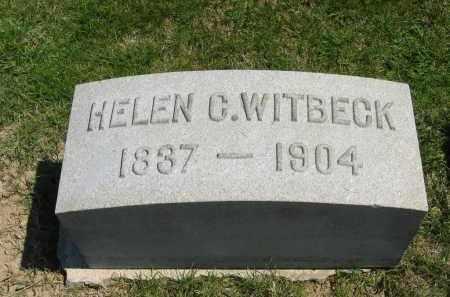 WITBECK, HELEN C. - Lorain County, Ohio | HELEN C. WITBECK - Ohio Gravestone Photos