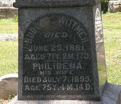WITTMER, PHILIBENA - Lorain County, Ohio | PHILIBENA WITTMER - Ohio Gravestone Photos