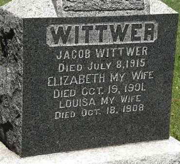 WITTWER, ELIZABETH - Lorain County, Ohio | ELIZABETH WITTWER - Ohio Gravestone Photos