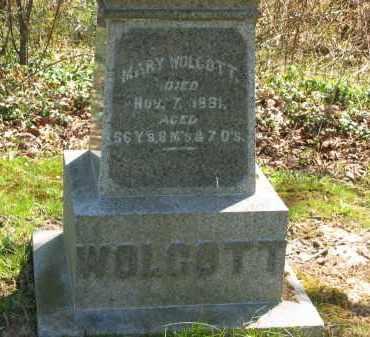 WOLCOTT, MARY - Lorain County, Ohio | MARY WOLCOTT - Ohio Gravestone Photos