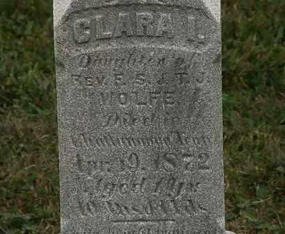 WOLFE, CLARA I. - Lorain County, Ohio | CLARA I. WOLFE - Ohio Gravestone Photos
