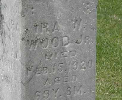 WOOD, IRA W. - Lorain County, Ohio | IRA W. WOOD - Ohio Gravestone Photos