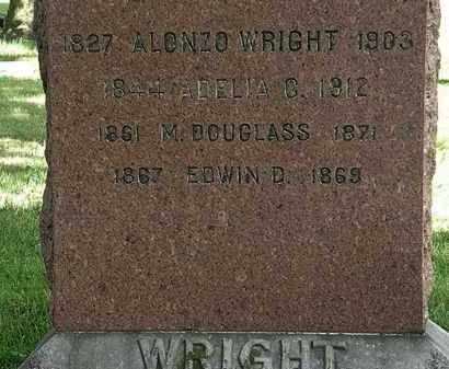 WRIGHT, M. DOUGLAS - Lorain County, Ohio | M. DOUGLAS WRIGHT - Ohio Gravestone Photos