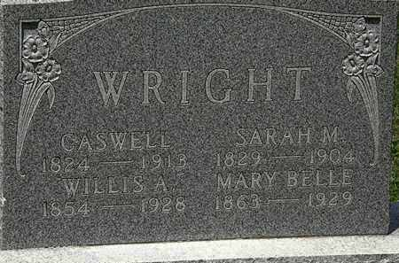 WRIGHT, SARAH M. - Lorain County, Ohio | SARAH M. WRIGHT - Ohio Gravestone Photos
