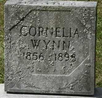 WYNN, CORNELIA - Lorain County, Ohio | CORNELIA WYNN - Ohio Gravestone Photos