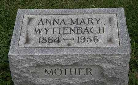 WYTTENBACH, ANNA MARY - Lorain County, Ohio | ANNA MARY WYTTENBACH - Ohio Gravestone Photos