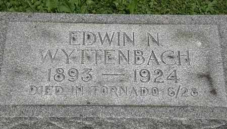 WYTTENBACH, EDWIN N. - Lorain County, Ohio | EDWIN N. WYTTENBACH - Ohio Gravestone Photos