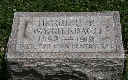 WYTTENBACH, HERBERT P. - Lorain County, Ohio | HERBERT P. WYTTENBACH - Ohio Gravestone Photos
