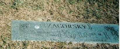 ZAGORSKY, FLOYD - Lorain County, Ohio | FLOYD ZAGORSKY - Ohio Gravestone Photos