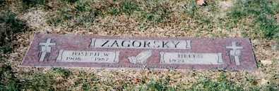 MILAS ZAGORSKY, HELEN - Lorain County, Ohio | HELEN MILAS ZAGORSKY - Ohio Gravestone Photos