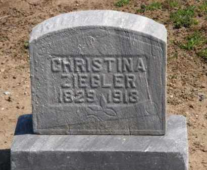 ZIEGLER, CHRISTINA - Lorain County, Ohio | CHRISTINA ZIEGLER - Ohio Gravestone Photos