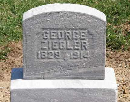 ZIEGLER, GEORGE - Lorain County, Ohio | GEORGE ZIEGLER - Ohio Gravestone Photos