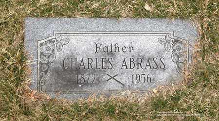 ABRASS, CHARLES - Lucas County, Ohio | CHARLES ABRASS - Ohio Gravestone Photos