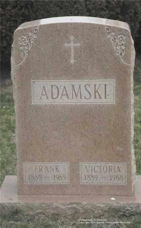 ADAMSKI, FRANK - Lucas County, Ohio | FRANK ADAMSKI - Ohio Gravestone Photos