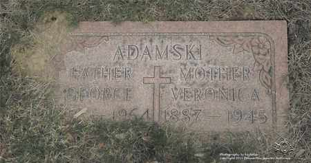 ADAMSKI, GEORGE - Lucas County, Ohio | GEORGE ADAMSKI - Ohio Gravestone Photos